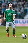 13.04.2019, Weserstadion, Bremen, GER, 1.FBL, Werder Bremen vs SC Freiburg<br /> <br /> DFL REGULATIONS PROHIBIT ANY USE OF PHOTOGRAPHS AS IMAGE SEQUENCES AND/OR QUASI-VIDEO.<br /> <br /> im Bild / picture shows<br /> Davy Klaassen (Werder Bremen #30), <br /> <br /> Foto &copy; nordphoto / Ewert