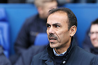 Sheffield Wednesday manager Jos Luhukay stands in the technical area during The Emirates FA Cup Fifth Round match between Sheffield Wednesday and Swansea City at Hillsborough, Sheffield, England, UK. Saturday 17 February 2018