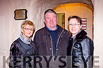 Jean Horgam, seamus Quirke and Brid Reidy at the Kerry Drama festival in the Ivy leaf theatre Castleisland on Saturday night