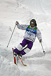 VANCOUVER, BC - FEBRUARY 13:  Tae Satoya of Japan competes during the Women's Freestyle Mogul Prelims at the 2010 Vancouver Winter Olympics at Cypress Mountain  on February 13, 2010 in Vancouver, Canada. (Photo by Donald Miralle)