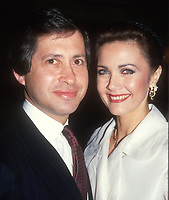 #LindaCarter and husband 1985<br /> Photo By Adam Scull/PHOTOlink.net
