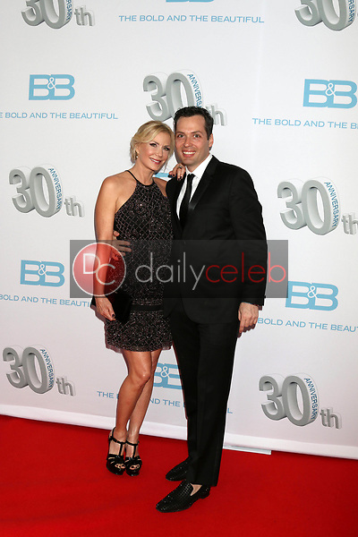 """Katherine Kelly Lang, Dominique Zoida<br /> at the """"The Bold and The Beautiful"""" 30th Anniversary Party, Clifton's Downtown, Los Angeles, CA 03-18-17<br /> David Edwards/DailyCeleb.com 818-249-4998"""