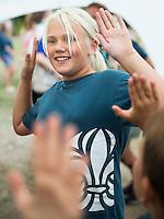 20140805 Vilda-l&auml;ger p&aring; Kragen&auml;s. Foto f&ouml;r Scoutshop.se<br /> scout, scouter, l&auml;gerplats, klapplek, roligt, ler, dag