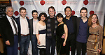 """Donald T. Sanders, Ari Evan, Matthew Cohen, Zhenni Li, John Boble, Mari Lee, Henry Wang, Maximilian Morel and Eve Wolf attends the Opening Night Celebration for Ensemble for the Romantic Century Off-Broadway Premiere of<br />""""Maestro"""" at the West Bank Cafe on January 15, 2019 in New York City."""