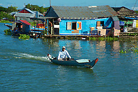 Life on the Tonle Sap  Cambodiaa