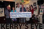 Fleadh By The Feale Launch held on Friday night in Matt McCoy's Bar Abbeyfeale from left: Paddy Quille, Maureen Murphy, Paul Morris representing Kostal the main sponsor of Fleadh By The Feale , Mayor Liam Galvin, Celine McNally and Dearbhla Conlon Ahern.