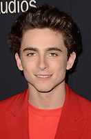 BEVERLY HILLS, CA - OCTOBER 8: Timothee Chalamet at the Los Angeles Premiere of Beautiful Boy at the Samuel Goldwyn Theater in Beverly Hills, California on October 8, 2018. <br /> CAP/MPI/DE<br /> ©DE//MPI/Capital Pictures
