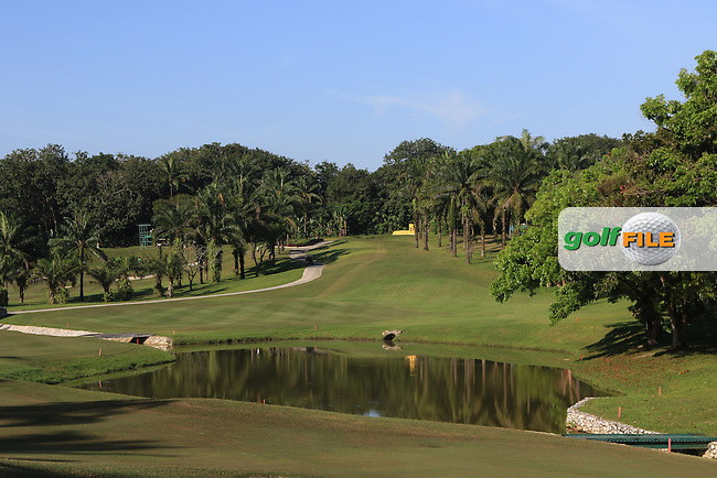 The 4th during Round 4 of the Maybank Championship on Sunday 12th February 2017.<br /> Picture:  Thos Caffrey / Golffile<br /> <br /> All photo usage must carry mandatory copyright credit     (&copy; Golffile | Thos Caffrey)