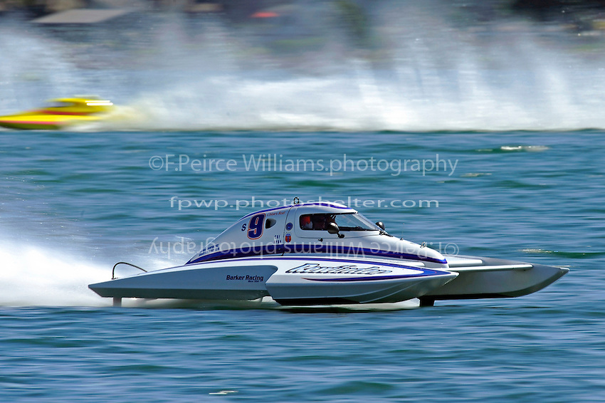 """Mike Monohan, S-9 """"Rewinder"""" (2.5 Litre Stock hydroplane(s)"""