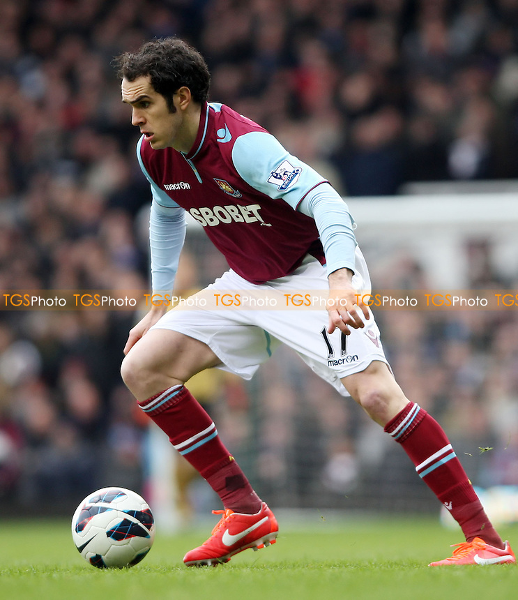 Joey O'Brien of West Ham - West Ham United vs West Bromwich Albion, Barclays Premier League at Upton Park, West Ham - 30/03/13 - MANDATORY CREDIT: Rob Newell/TGSPHOTO - Self billing applies where appropriate - 0845 094 6026 - contact@tgsphoto.co.uk - NO UNPAID USE.