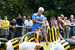 Nederland, Papendal, 1 juli 2012.Seizoen 2012-2013.Eerste training Vitesse .Fred Rutten (m.) de nieuwe trainer-coach van Vitesse op het trainingsveld van Vitesse. Rechts Marco van Ginkel