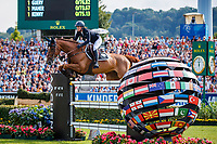 GER-Simone Blum rides DSP Alice during the Rolex Grand Prix of Aachen - Round 2. 2019 GER-CHIO Aachen Weltfest des Pferdesports. Sunday 21 July. Copyright Photo: Libby Law Photography
