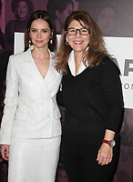 02 November 2018 - Los Angeles, California - Felicity Jones, Stacy L. Smith. TheWrap&rsquo;s Power Women&rsquo;s Summit held at the InterContinental Hotel. <br /> CAP/ADM/FS<br /> &copy;FS/ADM/Capital Pictures