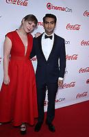 30 March 2017 - Las Vegas, NV - Emily Gordon, Kumail Nanjiani. 2017 CinemaCon Big Screen Achievement Awards at Caesar's Palace.  Photo Credit: MJT/AdMedia