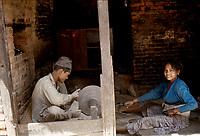 Katmandou, Nepal<br /> (date inconnue)<br /> <br /> PHOTO : Michel Faugere Publiphoto- Agence Quebec Presse