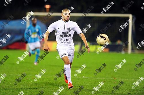 2014-10-25 / Voetbal / seizoen 2014-2015 / KV Turnhout - Oosterzonen / Abderrazak Abder Ziriouhi<br /><br />Foto: mpics.be
