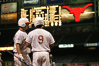 Texas Longhorns during the 2008 season games at Minute Maid Park in Houston. Photo by Andrew Woolley / Four Seam Images.