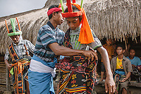 Witnessed by his families and fellow villagers, a young Pasola warrior get himself ready for the event in Wainyapu, Kodi. Pasola is an ancient tradition from the Indonesian island of Sumba. Categorized as both extreme traditional sport and ritual, Pasola is an annual mock horse warfare performed in response to the harvesting season. In the battelfield, the Pasola warriors use blunt spears as their weapon. However, fatal accident still do occurs.