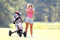 CHAPEL HILL, NC - OCTOBER 13: Lauren Peter of the Ohio State University at UNC Finley Golf Course on October 13, 2019 in Chapel Hill, North Carolina.
