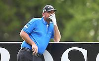 Thomas Bjorn on the 3rd tee - BMW Golf at Wentworth - Day 2 - 22/05/15 - MANDATORY CREDIT: Rob Newell/GPA/REX -
