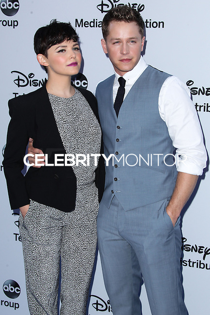 [(FILE) Ginnifer Goodwin and Josh Dallas Are Engaged on October 11, 2013]  	<br /> BURBANK, CA - MAY 19: Actors Ginnifer Goodwin and Josh Dallas arrive at the Disney Media Networks International Upfronts at Walt Disney Studios on May 19, 2013 in Burbank, California. (Photo by Xavier Collin/Celebrity Monitor)