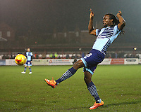 Marcus Bean of Wycombe Wanderers <br /> during the Sky Bet League 2 match between Accrington Stanley and Wycombe Wanderers at the wham stadium, Accrington, England on 28 February 2017. Photo by Tony  KIPAX.
