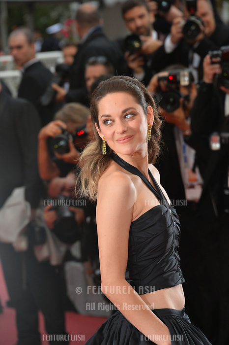 "CANNES, FRANCE. May 20, 2019: Marion Cotillard  at the gala premiere for ""La Belle Epoque"" at the Festival de Cannes.<br /> Picture: Paul Smith / Featureflash"