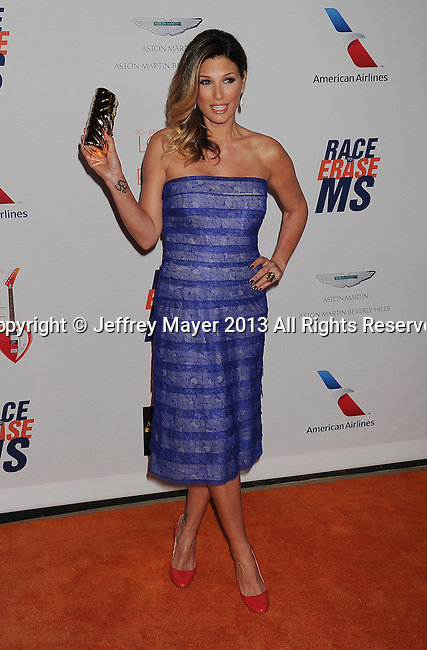 CENTURY CITY, CA- MAY 03: Actress Daisy Fuentes arrives at the 20th Annual Race To Erase MS Gala 'Love To Erase MS' at the Hyatt Regency Century Plaza on May 3, 2013 in Century City, California.