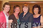 NIGHT OUT: Joan Devane, Eileen O'Sullivan, Kathleen Ryan and Joan O'Sullivan having a laugh at the Kilcummin GAA social in the Dromhall Hotel, Killarney on Saturday night.   Copyright Kerry's Eye 2008