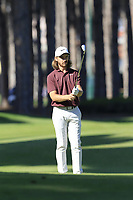 Tommy Fleetwood (ENG) prepares to play his 2nd shot on the 3rd hole during Saturday's Round 3 of the 2018 Turkish Airlines Open hosted by Regnum Carya Golf &amp; Spa Resort, Antalya, Turkey. 3rd November 2018.<br /> Picture: Eoin Clarke | Golffile<br /> <br /> <br /> All photos usage must carry mandatory copyright credit (&copy; Golffile | Eoin Clarke)