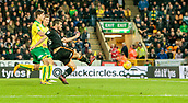 31st October 2017, Carrow Road, Norwich, England; EFL Championship football, Norwich City versus Wolverhampton Wanderers; Léo Bonatini of Wolves scores to make it 2-0