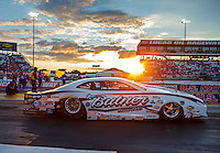 Sep 2, 2016; Clermont, IN, USA; NHRA pro stock driver Bo Butner during qualifying for the US Nationals at Lucas Oil Raceway. Mandatory Credit: Mark J. Rebilas-USA TODAY Sports