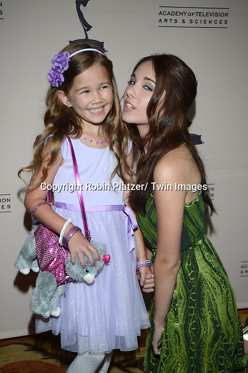 Brooklyn Rae Silzer and Haley Pullos  attends the Academy Of Television Arts & Science Daytime Programming  Peer Group Celebration for the 40th Annual Daytime Emmy Awards Nominees party on June 13, 2013 at the Montage Beverly Hills in Beverly Hills, California.