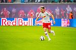 07.10.2018, Red Bull Arena, Leipzig, GER, 1. FBL 2018/2019, RB Leipzig vs. 1. FC N&uuml;rnberg/Nuernberg,<br /> <br /> DFL REGULATIONS PROHIBIT ANY USE OF PHOTOGRAPHS AS IMAGE SEQUENCES AND/OR QUASI-VIDEO.<br /> <br /> im Bild<br /> <br /> <br /> 1:0 F&uuml;hrung f&uuml;r RB Leipzig durch Kevin Kampl (#44, RB Leipzig), <br /> <br /> Foto &copy; nordphoto / Dostmann