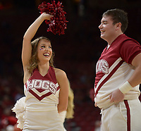 NWA Democrat-Gazette/ANDY SHUPE<br /> Arkansas Florida international Saturday, Dec. 1, 2018, during the first half of play in Bud Walton Arena. Visit nwadg.com/photos to see more photographs from the game.