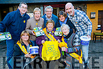 Daffodil day approaches and on Tuesday at Kirby's Brogue Inn,Tralee Daffodil Day was launched l-r: Jillian Wharton-Slattery,Anne O'Connor and Chris Griffin.Back l-r: Paul and Catherine Horan,Pat Hussey,Brendan Griffin and Edward O'Connor.