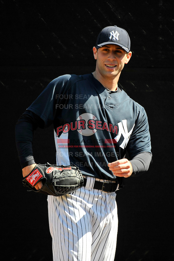 Feb 23, 2010; Tampa, FL, USA; New York Yankees  pitcher Jeremy Bleich (86) during  team workout at George M. Steinbrenner Field. Mandatory Credit: Tomasso De Rosa