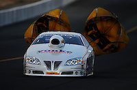 Jul. 16, 2010; Sonoma, CA, USA; NHRA pro stock driver Bob Yonke during qualifying for the Fram Autolite Nationals at Infineon Raceway. Mandatory Credit: Mark J. Rebilas-