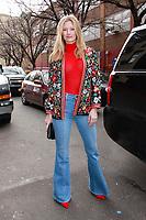 FEB 11 Celebrity Sightings At Alice + Olivia New York Fashion Week 2019
