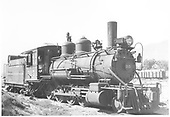 3/4 engineer's-side view of D&amp;RGW #315 in Salida.<br /> D&amp;RGW  Salida, CO