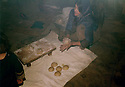 Iran 1982 .The bakery in the KDPI hospital of Khedraveh.Iran 1982.La boulangerie de l'hopital du PDKI a Khedraveh