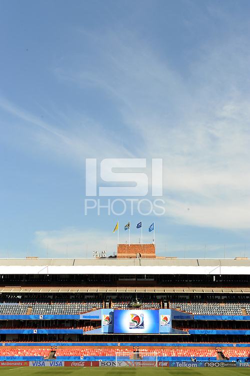 A general view of the Loftus Versfeld Stadium. Italy defeated USA 3-1 during the FIFA Confederations Cup at Loftus Versfeld Stadium, in Tshwane/Pretoria South Africa on June 15, 2009.