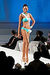 """Miss Colombia Zuleika Kiara Suarez Torrenegra, November 11, 2014, Tokyo, Japan : Miss Colombia Zuleika Kiara Suarez Torrenegra walks down the runway during """"The 54th Miss International Beauty Pageant 2014"""" on November 11, 2014 in Tokyo, Japan. The pageant brings women from more than 65 countries and regions to Japan to become new """"Beauty goodwill ambassadors"""" and also donates money to underprivileged children around the world thought their """"Mis International Fund"""". (Photo by Rodrigo Reyes Marin/AFLO)"""