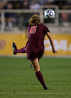 Jazmine Reeves. Florida State defeated Virginia Tech, 3-2,  at the NCAA Women's College Cup semifinals at WakeMed Soccer Park in Cary, NC.