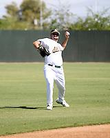Matt Spencer / Oakland Athletics 2008 Instructional League..Photo by:  Bill Mitchell/Four Seam Images