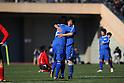 Ichiritsu Funabashi team group, JANUARY 7, 2012 - Football /Soccer : 90th All Japan High School Soccer Tournament semi-final between Oita 1-2 Ichiritsu Funabashi at National Stadium, Tokyo, Japan. (Photo by YUTAKA/AFLO SPORT) [1040]