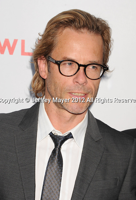 HOLLYWOOD, CA - AUGUST 22: Guy Pearce arrives at the 'Lawless' Los Angeles Premiere at ArcLight Cinemas on August 22, 2012 in Hollywood, California.