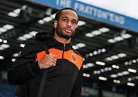 Blackpool's Nathan Delfouneso arriving at the stadium <br /> <br /> Photographer Andrew Kearns/CameraSport<br /> <br /> The EFL Sky Bet League One - Portsmouth v Blackpool - Saturday 12th January 2019 - Fratton Park - Portsmouth<br /> <br /> World Copyright © 2019 CameraSport. All rights reserved. 43 Linden Ave. Countesthorpe. Leicester. England. LE8 5PG - Tel: +44 (0) 116 277 4147 - admin@camerasport.com - www.camerasport.com