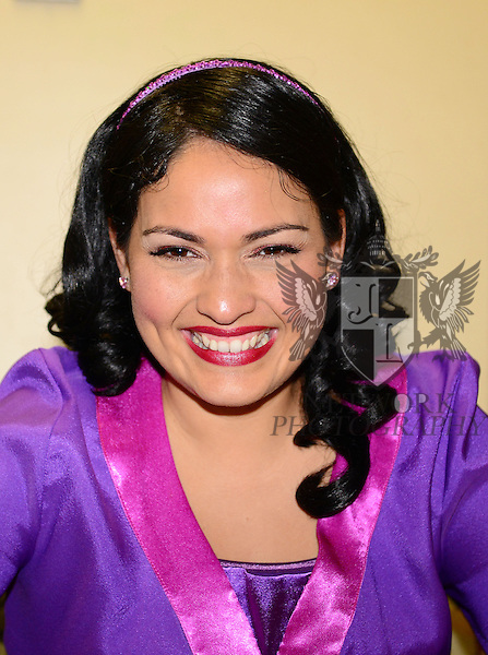 """FORT LAUDERDALE, FL - AUGUST 08: PBS Kids Host Miss Rosa Performed By Jennifer Pena attend and performs at """"A Day For Children"""" at Rose and  Alfred Miniaci Performing Arts Center on August 8, 2013 in Fort Lauderdale, Florida. (Photo by Johnny Louis/jlnphotography.com)"""