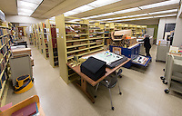 Photo taken for Magazine article on Special Collections, Dec. 14, 2015.<br />